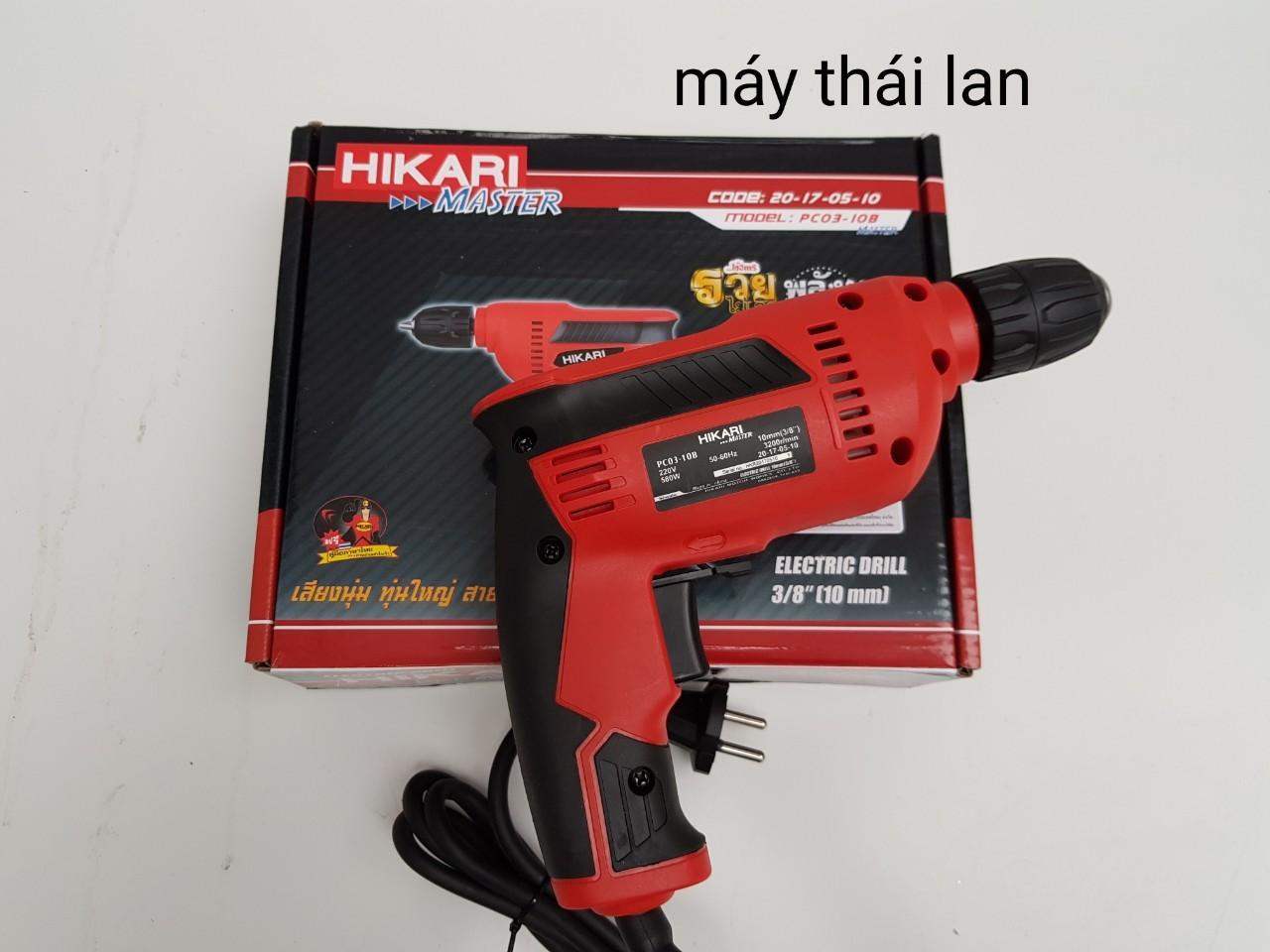 máy khoan hikari thái lan pc03-10b 10mm