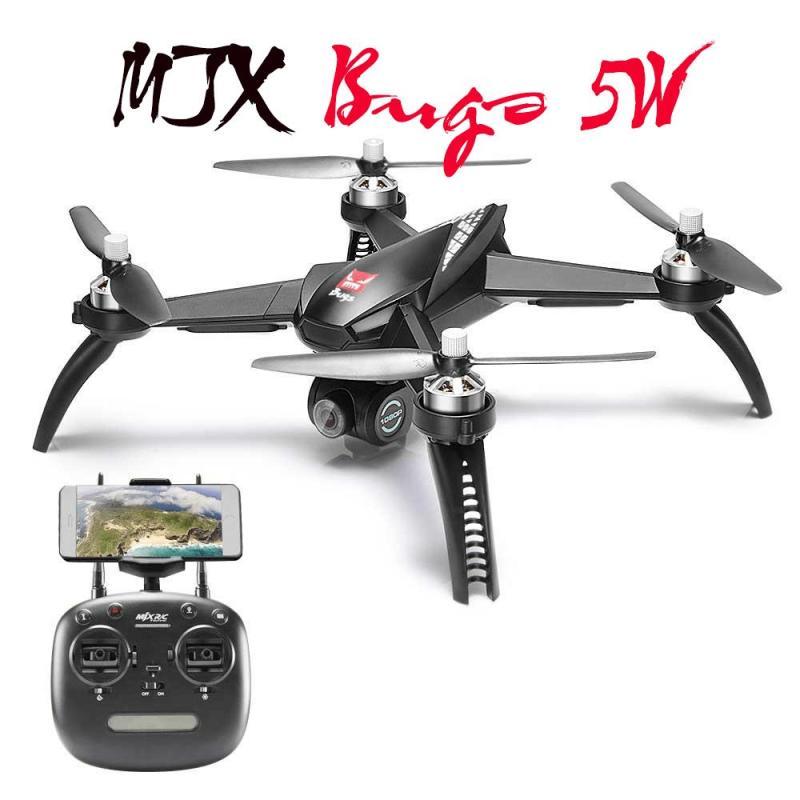 Flycam mjx bugs 5w GPS -follow me - Quay full HD có gimbal