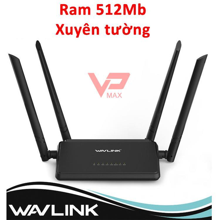 Hình ảnh Bộ phát Wifi Xuyên Tường - Router Wifi Wavlink WN 532H2 High Power - 4 anten siêu mạnh