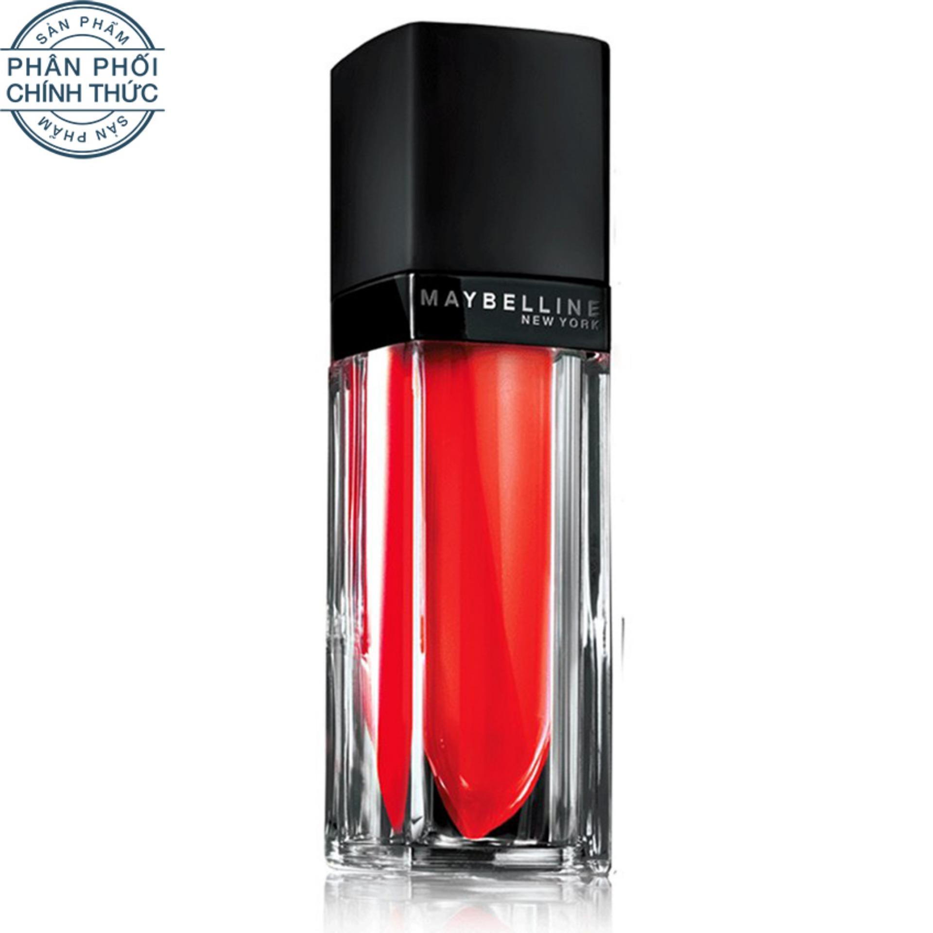 Mã Khuyến Mại Son Kem Li Maybelline Color Vivid Matte Liquid Mat8 5Ml Đỏ Rực