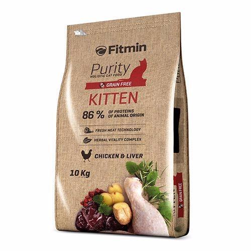 Mua Thức Ăn Cho Meo Fitmin Purity Kitten 400G Rẻ Hồ Chí Minh