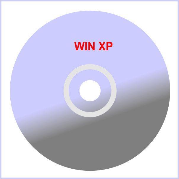 Hình ảnh Đĩa cài WIN XP New