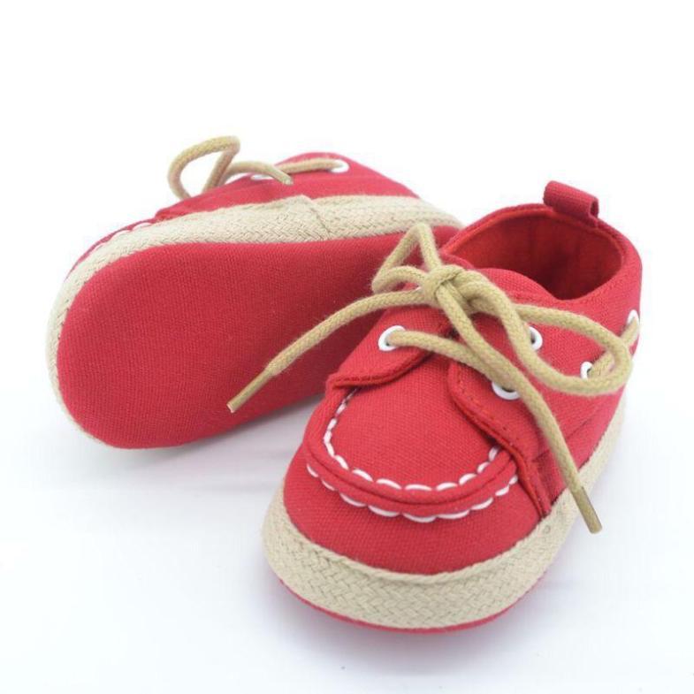 Giày Tập Đi Bata Cột Dây Sành Điệu Cho Bé giá rẻ