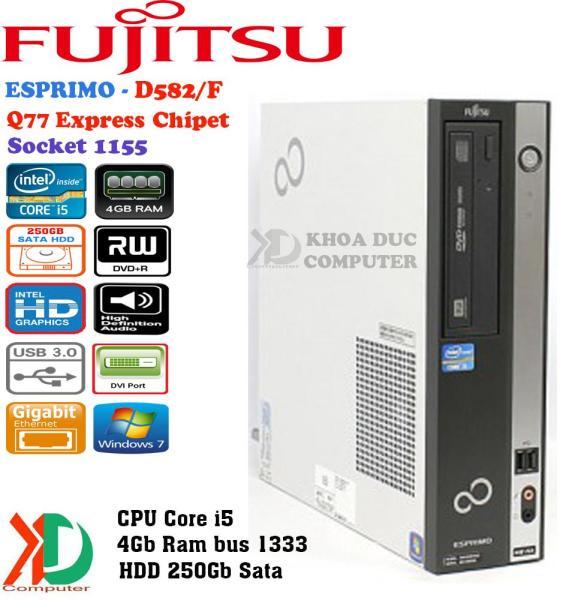 Máy Tính Đồng Bộ Nhật Bản FUJITSU H61/Q77 Chipset Core I5/4Gb Ram/250Gb HDD Siêu Bền.