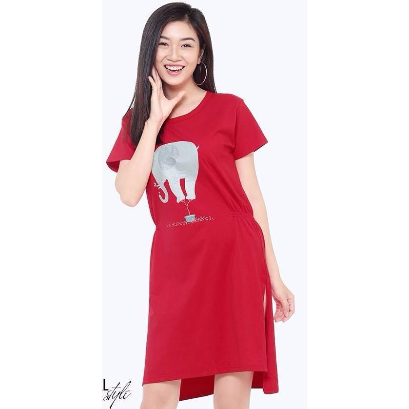 Ôn Tập Đầm Suong Thun Cotton Nữ Tri Lan Dam025 Tri Lan