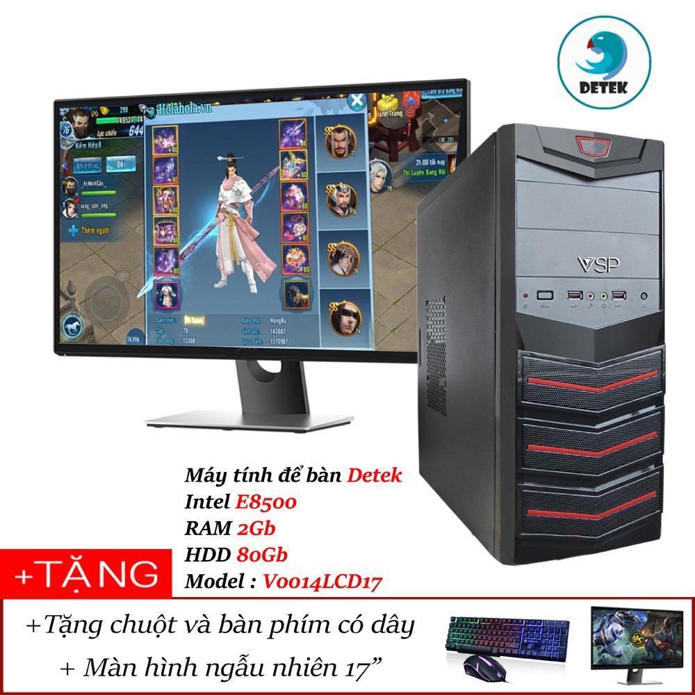 Hình ảnh Máy tính để bàn Detek - Intel E8500 RAM 2Gb HDD 80Gb Model : V0014LCD17