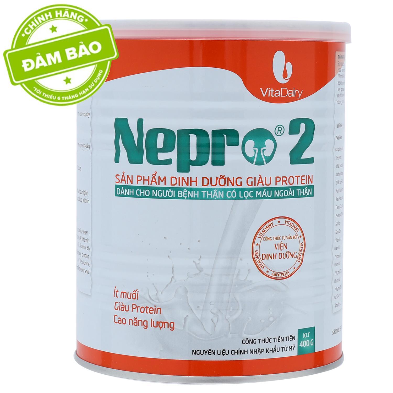 Sữa Nepro 2 400g Cho Bệnh Nhân Chạy Thận