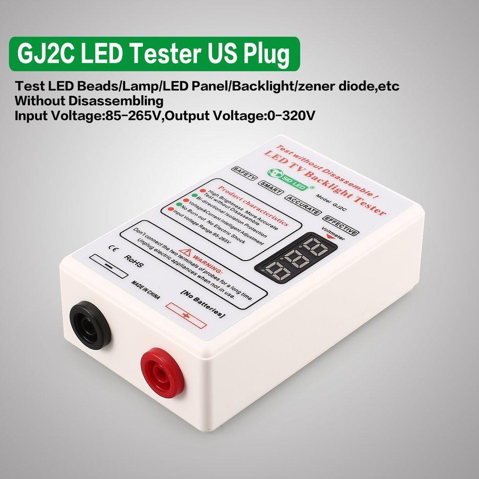 GJ2C LCD LED Hạt Đèn Dải Ban TRUYỀN HÌNH Đèn Nền Máy Dò Phích Cắm US
