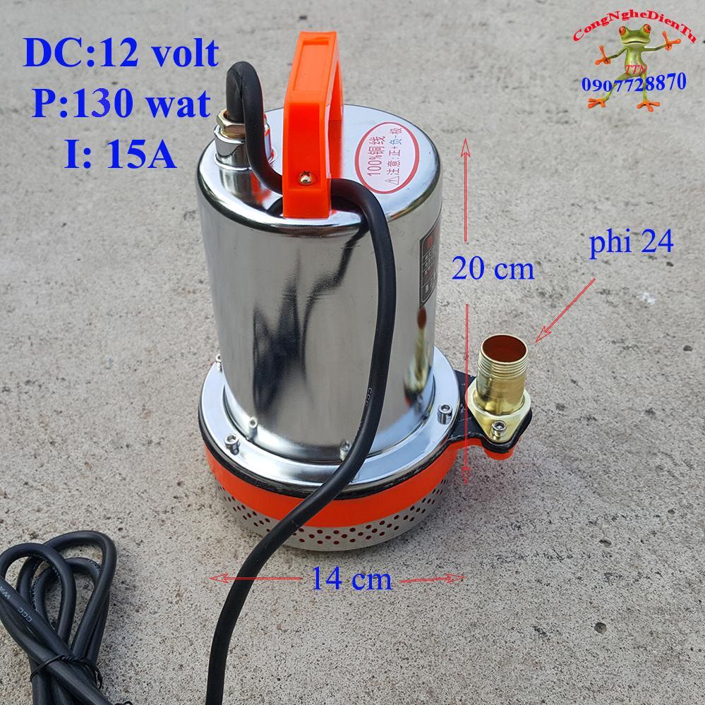 Hình ảnh Máy bơm nước chìm 12 volt - 130 wat 6 khối giờ