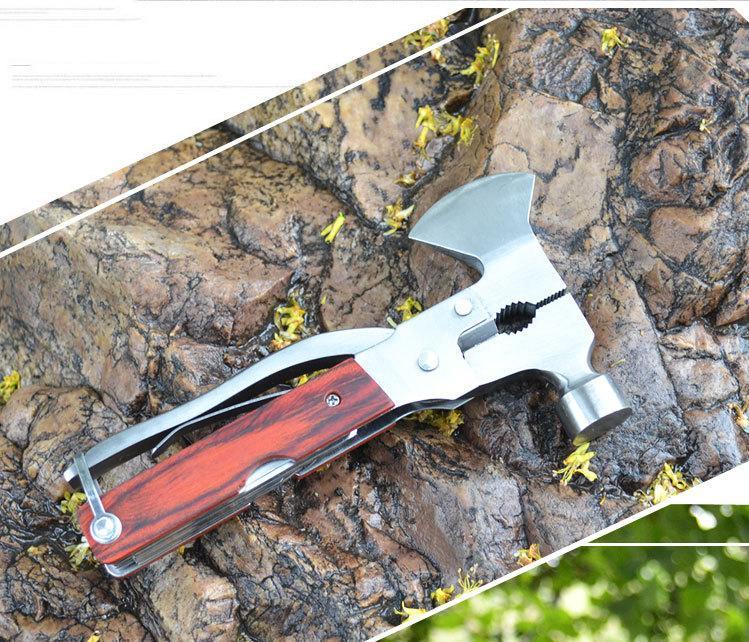Bộ Đồ Vá Săm Xe Máy, Bán bộ Tools HK-08, Những Đồ Dùng Cần Thiết Khi Đi Du Lịch Biển - Bộ dụng cụ đa năng Ưu Đãi Đặc Biệt  Giá Tốt ( Loại xin inox)
