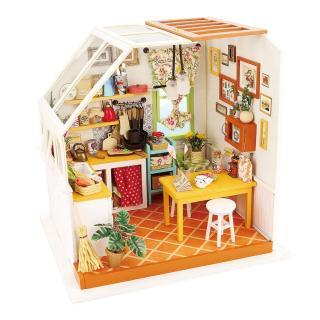 [Lấy mã giảm thêm 30%]Mô hình nhà lắp ghép Phòng bếp của Jacson Robotime -Diydollhouse thumbnail