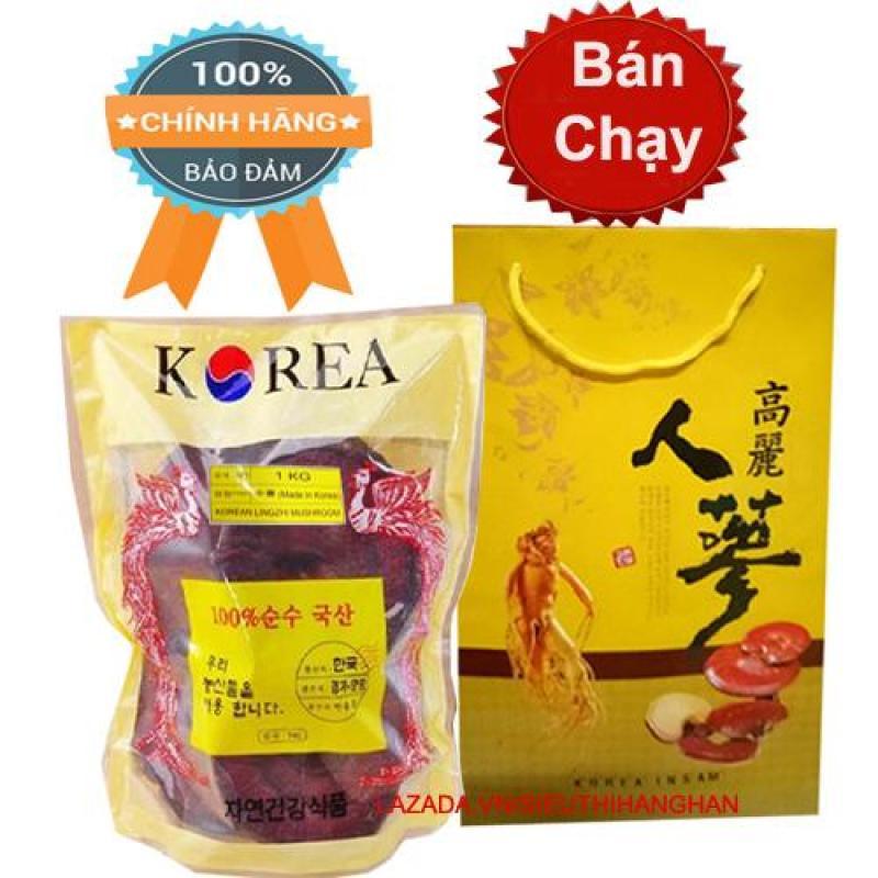 Nấm linh chi Phượng Hoàng Đỏ Hàn Quốc 1kg cao cấp