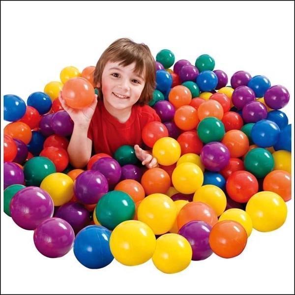 Hình ảnh COMBO 100 quả bóng nhựa cho bé vui chơi - (Ngoài ra shop còn có rất nhiều loại đồ chơi khác như squishy, cá sấu cắn tay )
