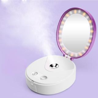Gương trang điểm tích hợp chế độ phun sương đèn led và sạc dự phòng thumbnail