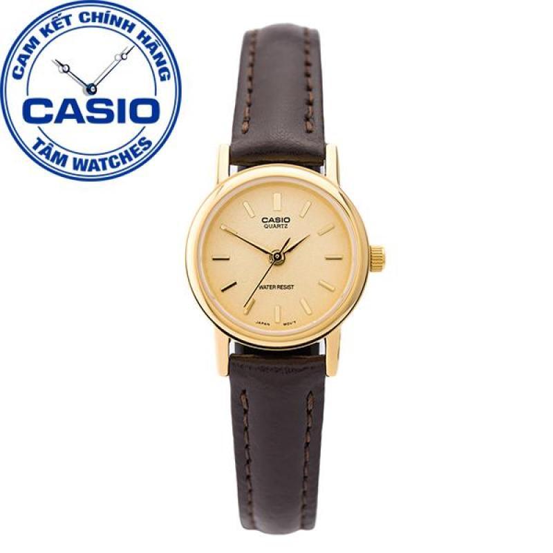 Đồng hồ nữ dây da Casio Standard Anh Khuê LTP-1095Q-9A