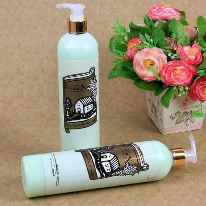 Dầu xả chống gầu giúp tóc mềm mượt Garden From Germany 550ml nhập khẩu