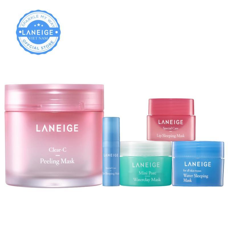 Combo Top 5 mặt nạ yêu thích Laneige Mask Collection nhập khẩu
