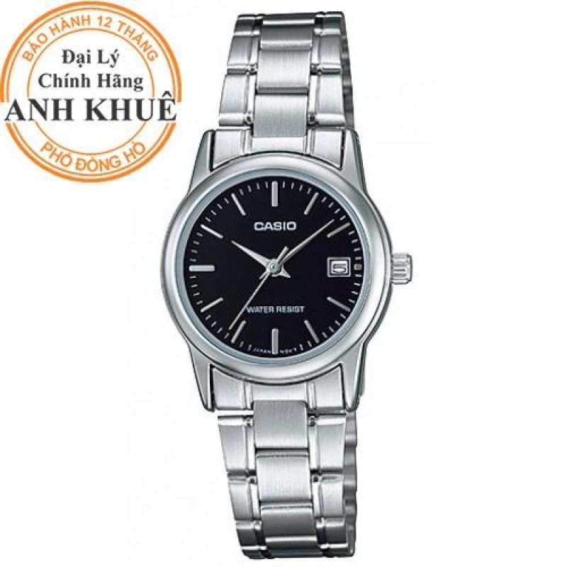 Nơi bán Đồng hồ nữ dây kim loại Casio Anh Khuê LTP-V002D-1AUDF