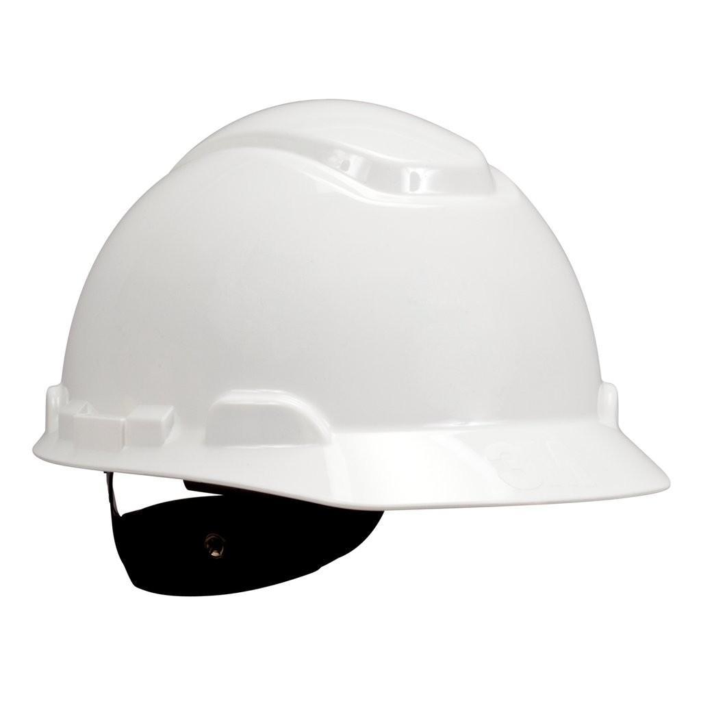Nón bảo hộ 3M H-701R, màu trắng đã gồm quai nón 1990
