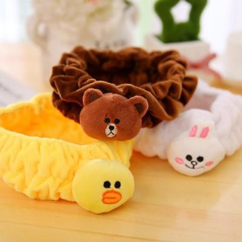 Băng đô hình thú Hàn Quốc siêu cute (Gấu nâu) cao cấp