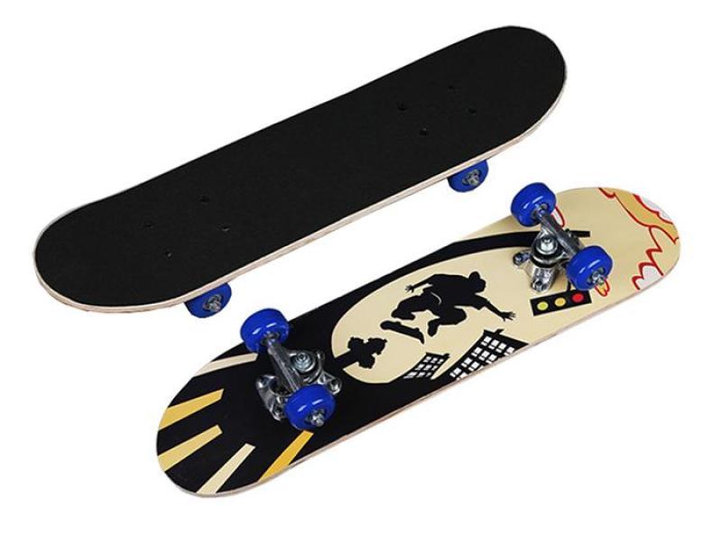 Giá bán Ván trượt trẻ em Skateboard mặt nhám cỡ nhỏ (Đạt chuẩn thi đấu)