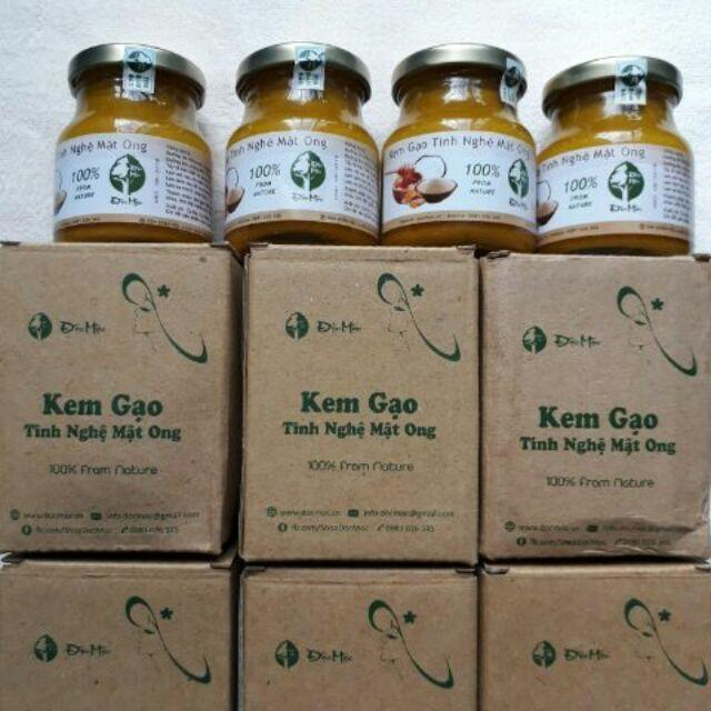Kem gạo tinh nghệ mật ong Độc Mộc