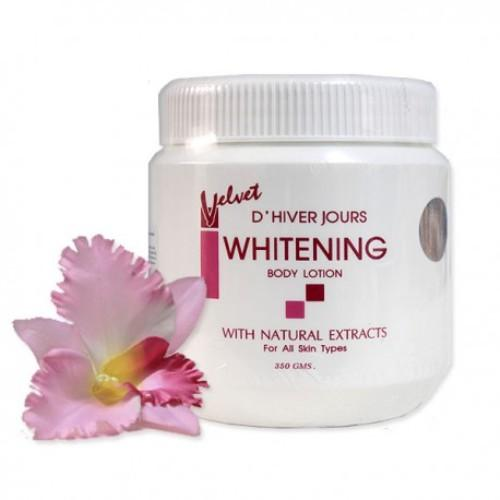 Kem Ngày Đêm Velvet DHIVER JOURS Whitening Body Lotion