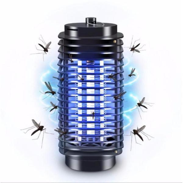 Đèn bắt muỗi và diệt côn trùng hình tháp