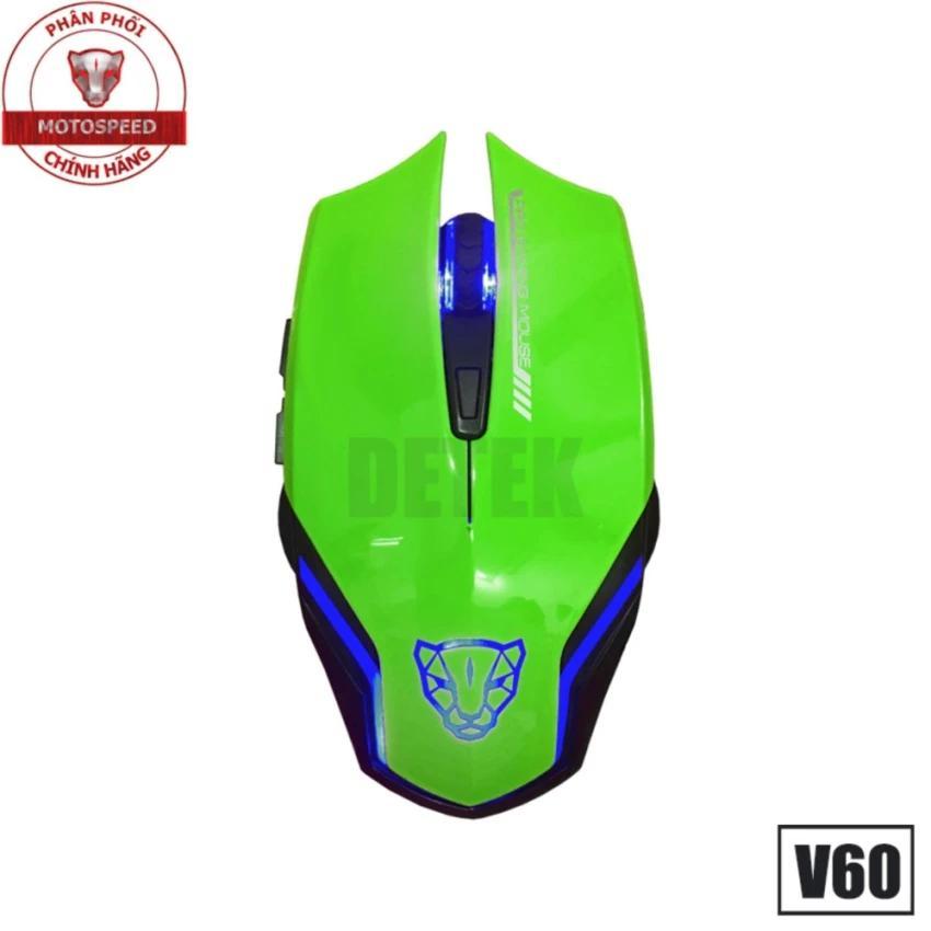 Giá Bán Chuột Game Thủ Motospeed V60 Dpi 3500 Optical Gaming Mouse Trực Tuyến