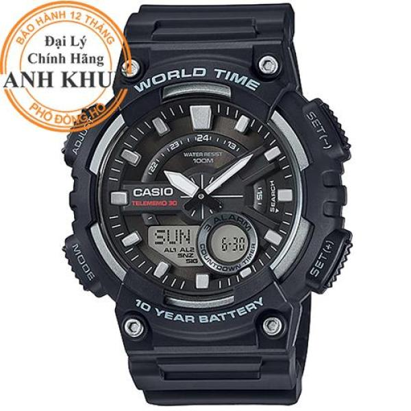 Đồng hồ nam dây nhựa Casio Anh Khuê AEQ-110W-1AVDF bán chạy