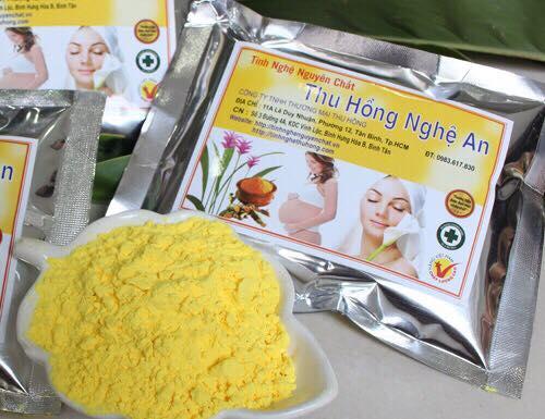 Tinh Nghệ Vàng 200G - Tinh Nghệ Thu Hồng hàng xuất khẩu