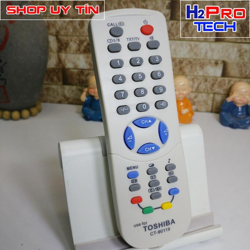Bảng giá ĐIỀU KHIỂN TIVI CRT TOSHIBA CT-90119 ( Màn hình lồi ) ( tặng đôi pin )