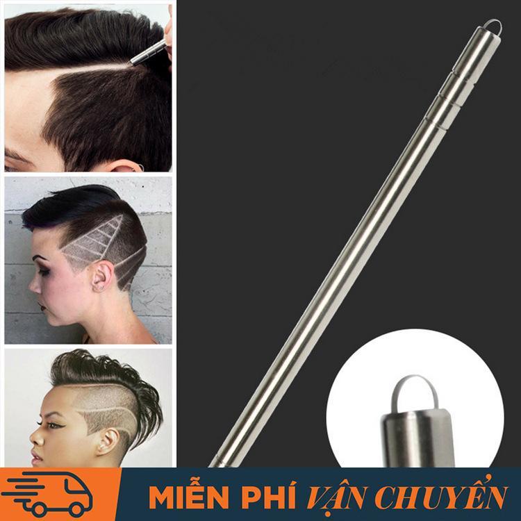 Dao cạo tóc và lông mày dạng bút. Hợp kim không gỉ, tặng 10 lưỡi dao và nhíp cao cấp tốt nhất