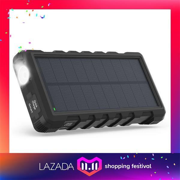 Pin dự phòng năng lượng mặt trời RAVPower RP-PB083, 25000mAh, QC3.0, USB-C - Hãng phân phối chính thức