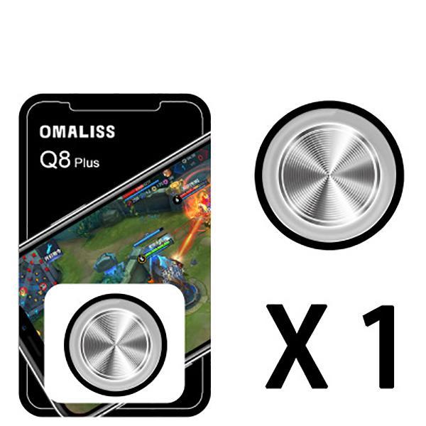 Nút bấm chơi game liên quân game PUBG điều hướng chuyển động Q8 Plus - Đen