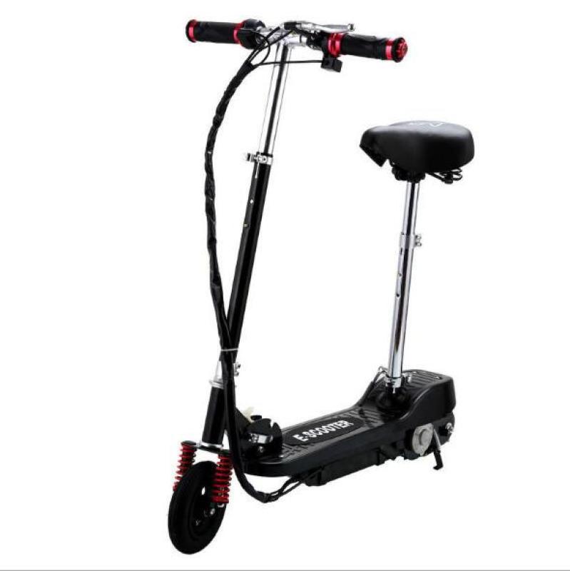 Giá bán Xe scooter điện E-Scooter 15km/h, tải trọng 80kg, 120w thiết kế chắc chắn (Xanh)