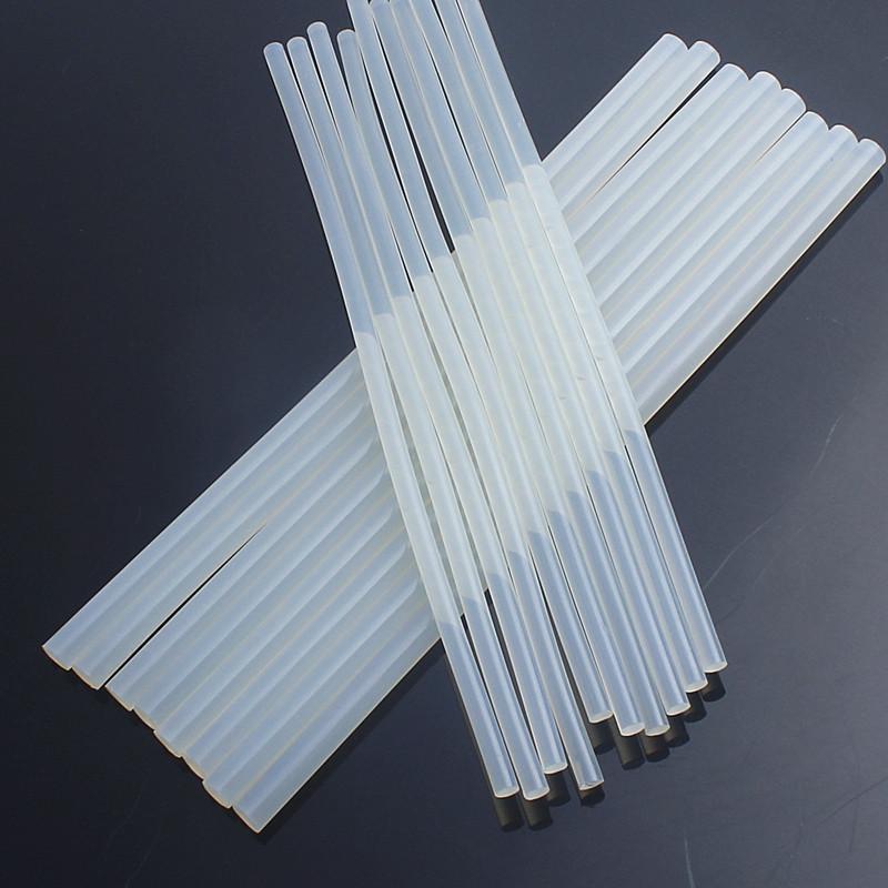 Combo 100 thanh keo nến 0,7*25cm + 14 cây kéo cắt giấy