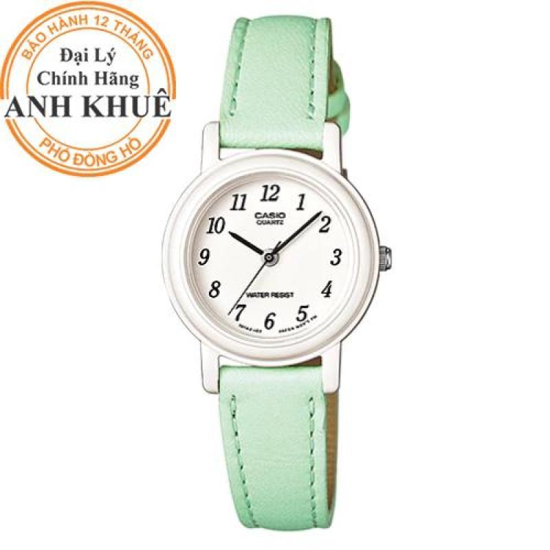 Đồng hồ nữ dây da Casio Anh Khuê LQ-139L-3BDF