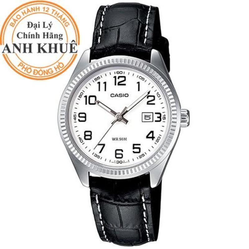 Đồng hồ nữ dây da Casio Anh Khuê LTP-1302L-7BVDF