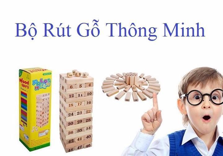 Hình ảnh Đồ chơi rút gỗ Wiss Toy 54 Thanh