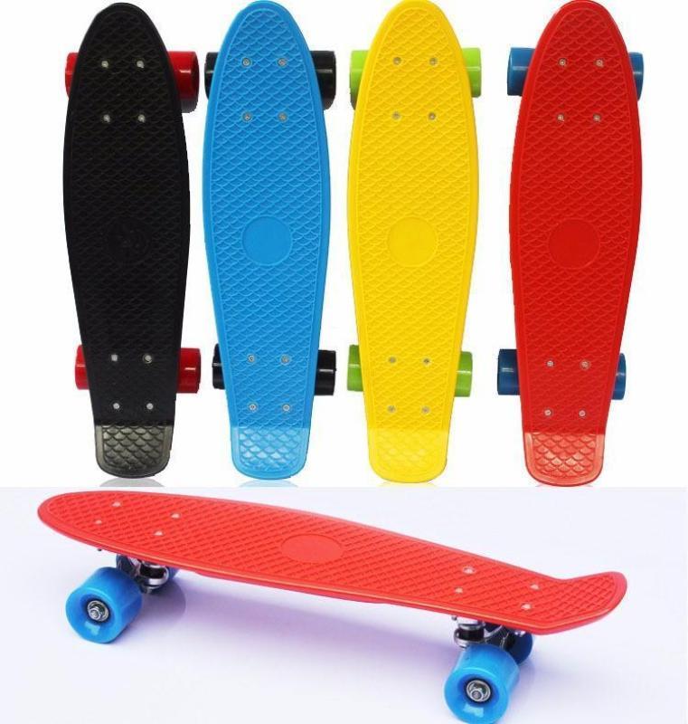 Ván trượt Skateboard Penny thể thao siêu đẹp / Ván Trượt Thể Thao Chịu Tải 100Kg- Hàng hot 2019 (màu ngẫu nhiên)