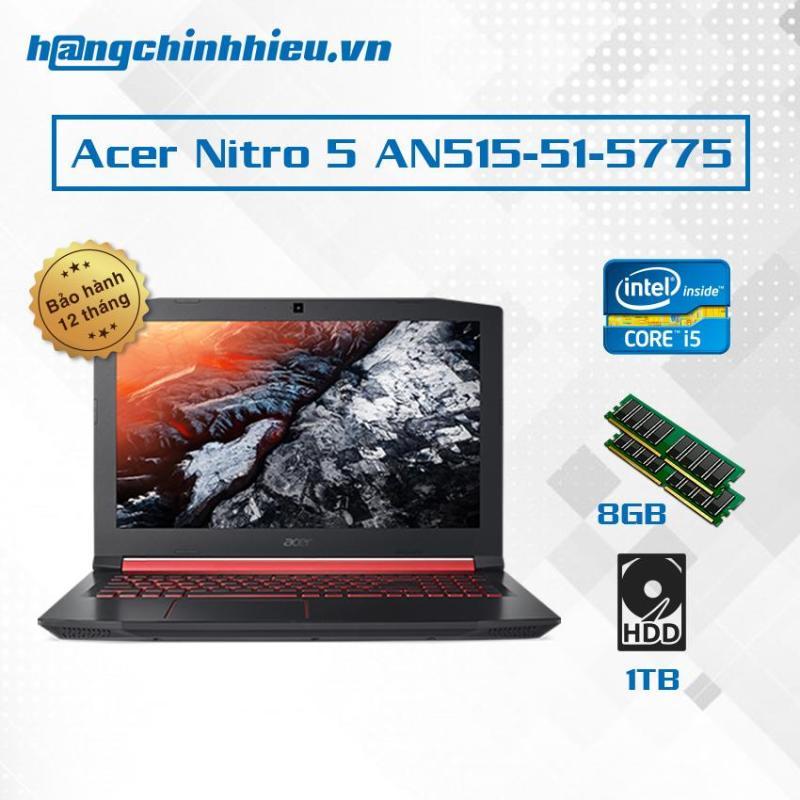 Laptop Acer Nitro 5 AN515-51-5775 i5-7300HQ, 15.6 inch - Hãng phân phối chính thức