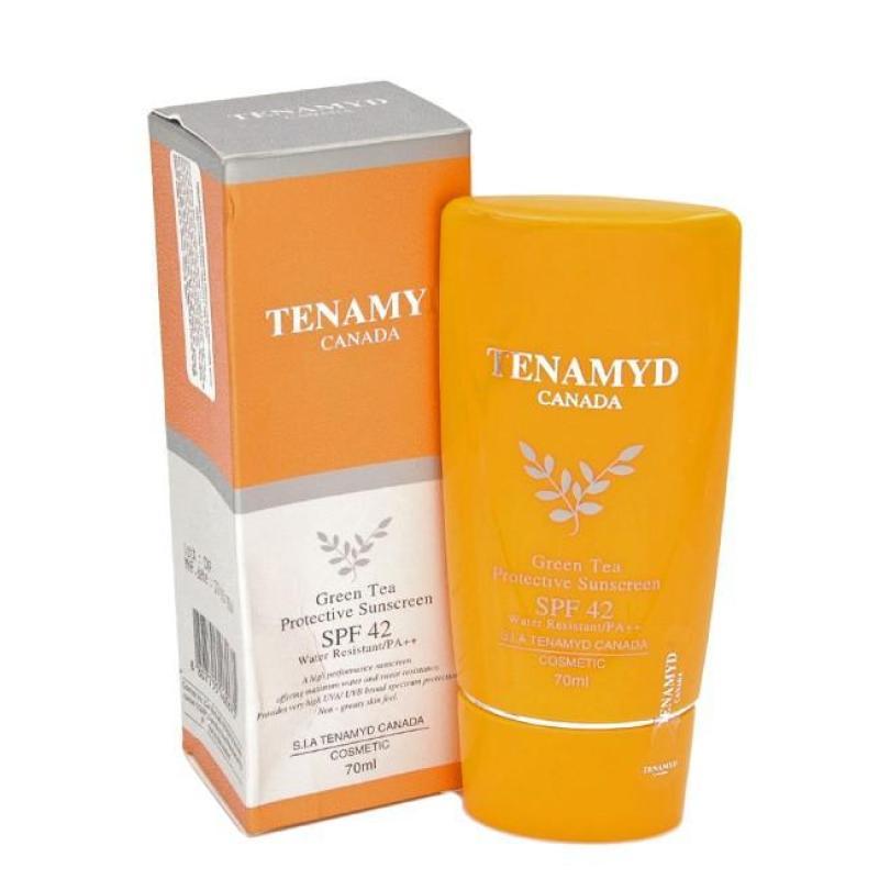 Kem chống nắng Tenamyd Green Tea Protective Sunscreen SPF42 nhập khẩu