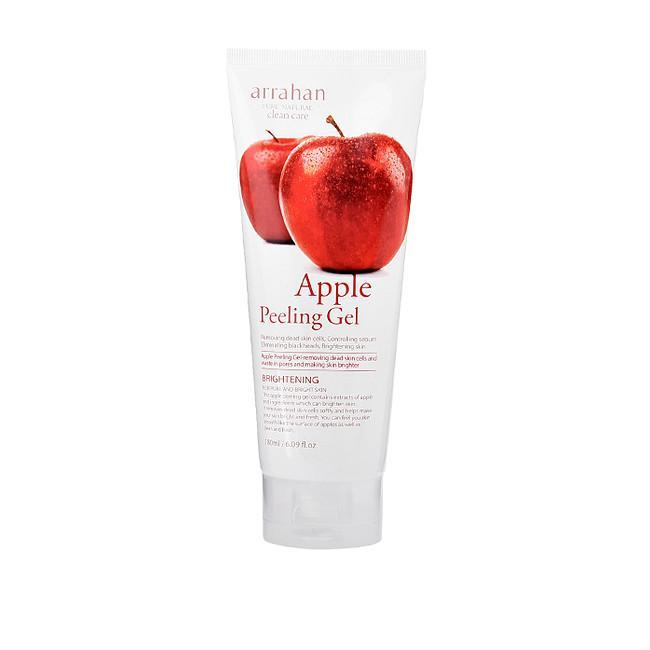 Gel Tẩy da chết Làm Trắng Da Mùi Táo Hàn Quốc Arrahan Apple Peeling (180ml)