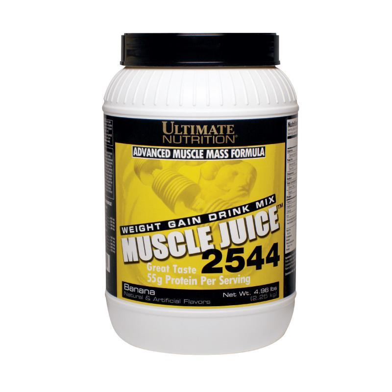 Sữa tăng cân tăng cơ vị chuối Muscle Juice Banana 2.25kg nhập khẩu