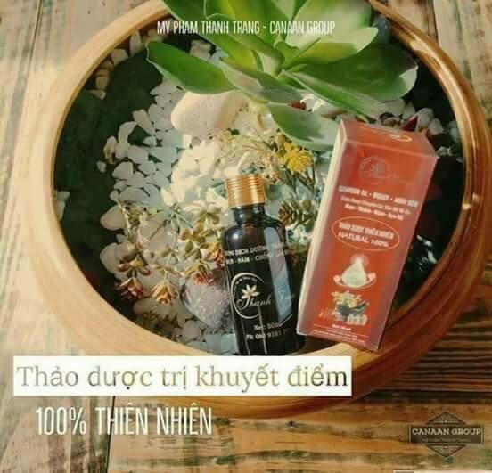 Thuốc thảo dược thiên nhiên trị mụn, nám Đông Y Thanh Trang