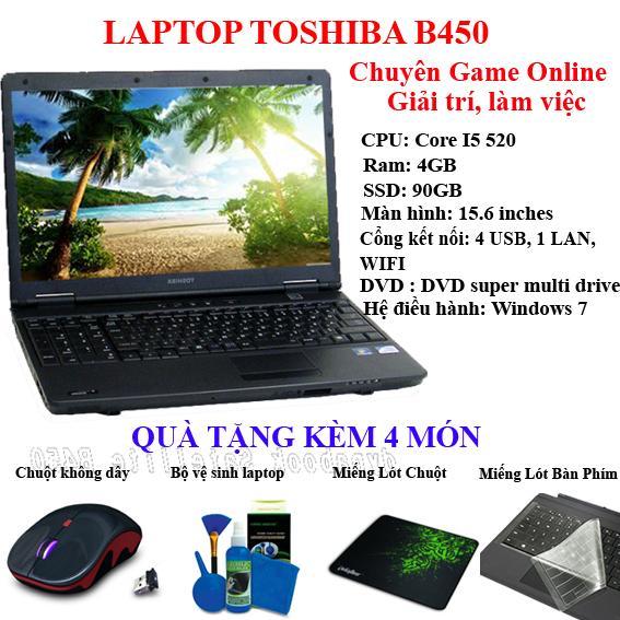 Hình ảnh Laptop Toshiba chuyên game online, mượt mà, bền