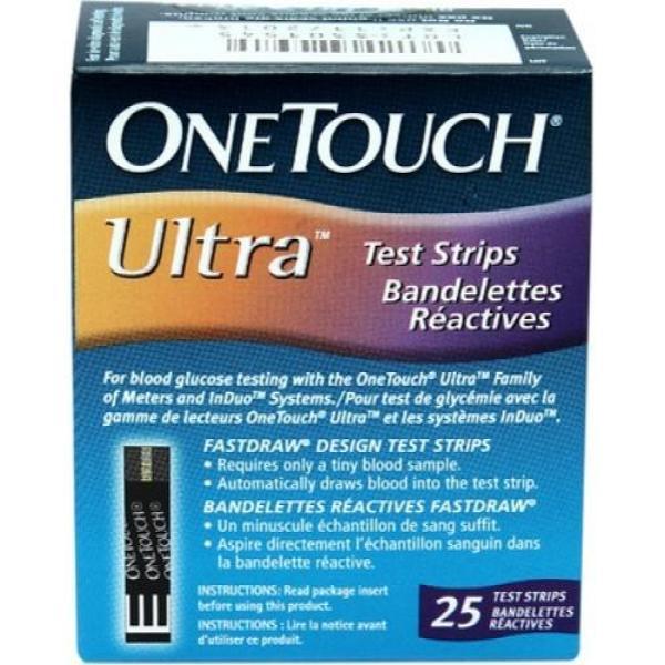 Nơi bán Combo 2 hộp que thử đường OneTouch Ultra (hộp 25 que)