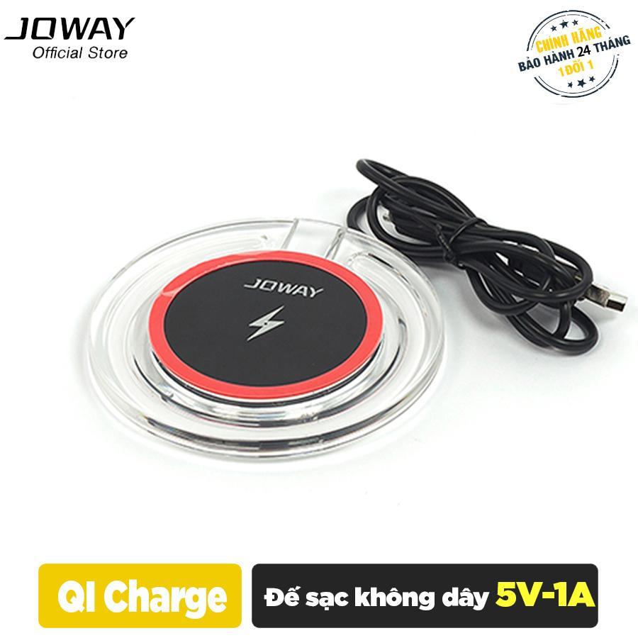 Hình ảnh Sạc không dây Joway WXC03 cho iphone 8/8plus, iphone X, Samsung S8/S8+ Note 8 - Hãng phân phối chính thức