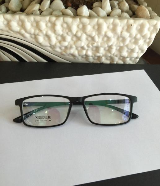 Mua Kính Mắt vuông Gọng nhựa siêu dẻo Hàn Quốc (ĐEN)